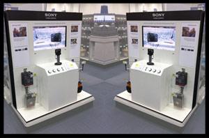 sony cyber shot camera display. Black Bedroom Furniture Sets. Home Design Ideas
